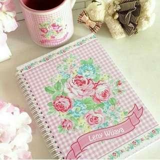 Note book custom