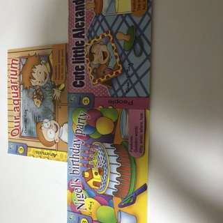 All 6. Books for $10.00 good condition