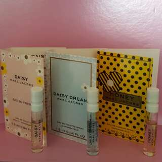 Marc Jacobs Perfume Samples