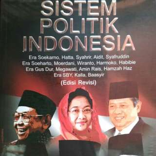 SISTEM POLITIK INDONESIA Era Soekarno, Hatta, Syahrir, Aidit, Syafruddin Era Soeharto, Moerdani, Wiranto, Harmoko, Habibie Era Gus Dur, Megawati, Amin Rais, Hamzah Haz Era SBY, Kalla, Ba'asyir  DR. H. Inu Kencana Syafiie, M.Si. DR. Azhari, SSTP., M.S