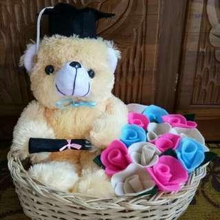 Flowers teddy