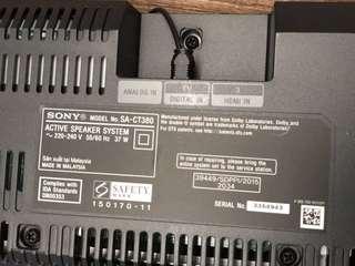 Sony sound bar