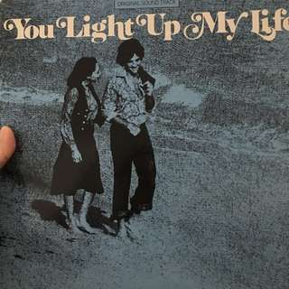You light up my life vinyl record