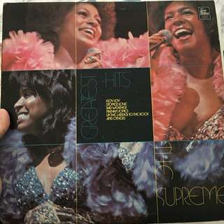 The Supremes vinyl record