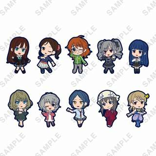 "[PO] ""The Idolmaster Cinderella Girls"" Embroidery Mascot Collection Ver. Cool"