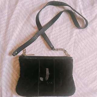 Juicy Couture velour crossbody bag