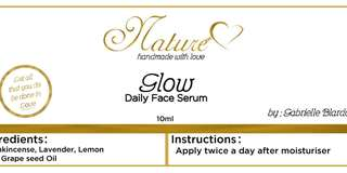 Glow daily face serum