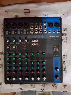Yamaha MG10 Mixer with Adaptor