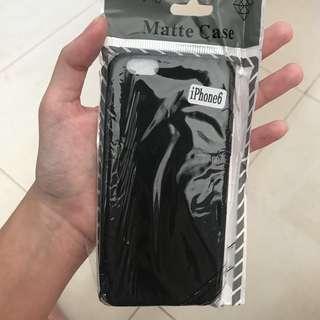 Softcase Hitam Polos Iphone 6, 7+