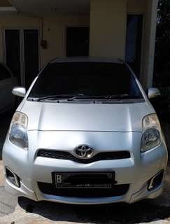 Toyota yaris 2012 type E at