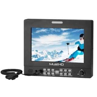 """MustHD M702H-4K HDMI Feild Monitor (7"""" Inch). 1 year Warranty"""