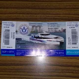 Batam Majestic Ferry Tickets