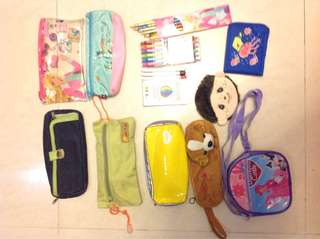 New/Preloved Girls Bags, Pouch wallets