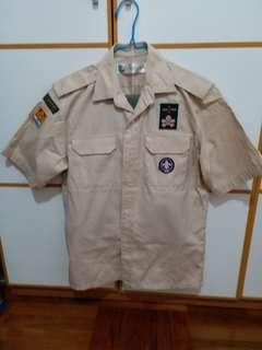delia memorial school (hip wo) scout uniform