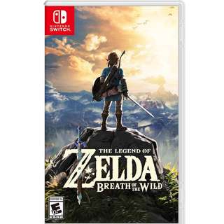Zelda - breath of the wild - Mint condition