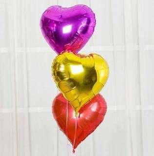 Heart Shaped Foil Balloon