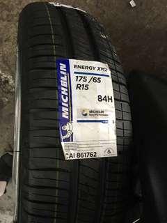175/65/15 XM2 Michelin Tyre