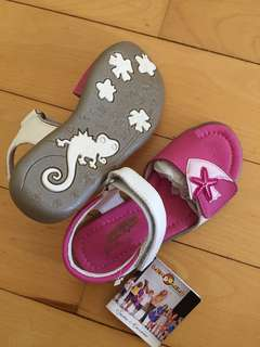 Girls sandals new size 27