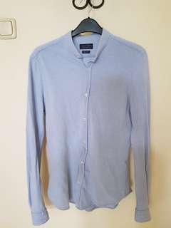 Zara Slim Fit Cotton Shirt