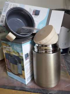 Insulated Stainless Steel Food Jar
