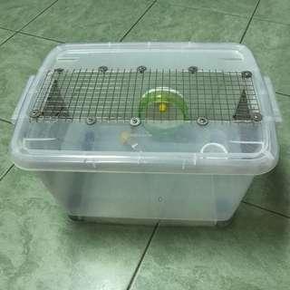 自製倉鼠整理箱