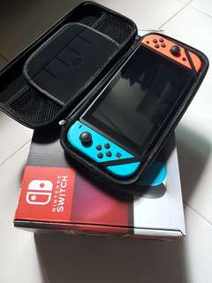 Nintendo Switch with free controller
