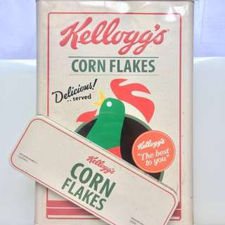 Kellogg's cereal tin 💝