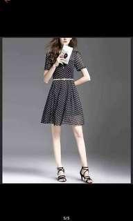 Black Polkadots Dress