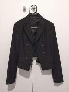 Bardot black blazer