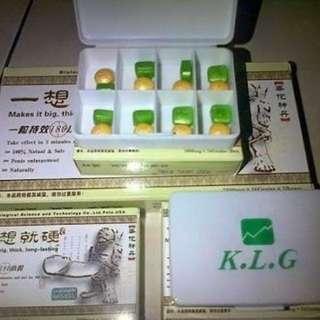 Beli 2 Bonus 1 KLG Pills Obat Pembesar Alat Vital Pria