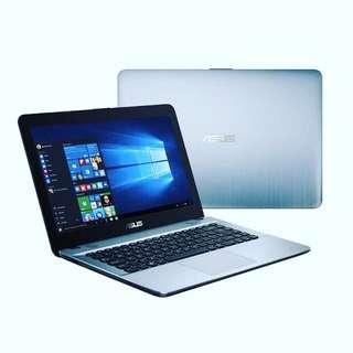 laptop asus x441na Bisa Kredit Dp 420,000 promo gratis 1x cicilan