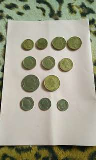 Old Coins / duit syiling lama