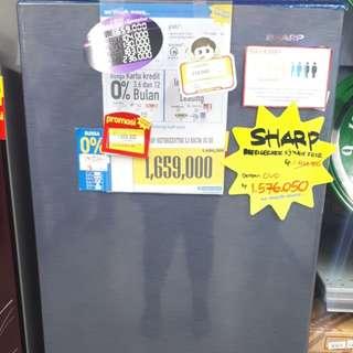 Kulkas Sharp 1 Pintu (Promo Tanpa DP)