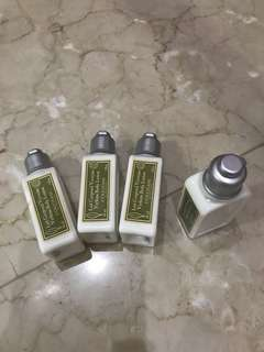 Loccitane body lotion