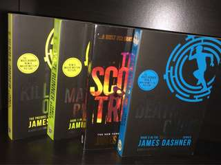 Maze Runner series (4 books)
