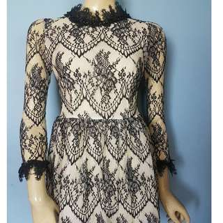 Cute Embellished lacy Dress