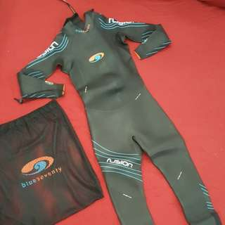 Triathlon Wet Suit Blue Seventy Fusion (Men)