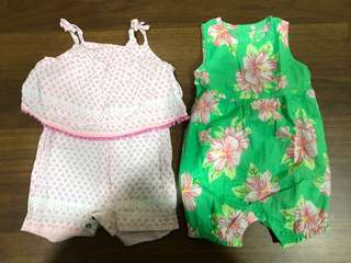 Carters Baby Girl Romper