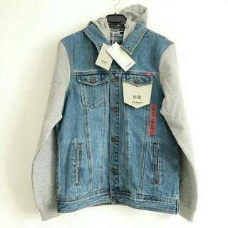 Pull & Bear Denim Jacket With Hooded (BNWT)