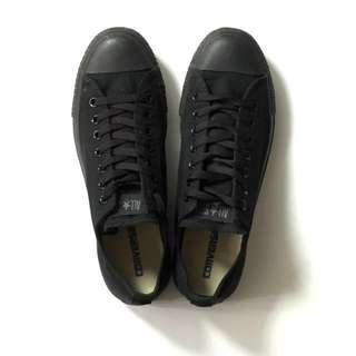 9成9新 Converse All Star 黑魂布鞋 US9.5