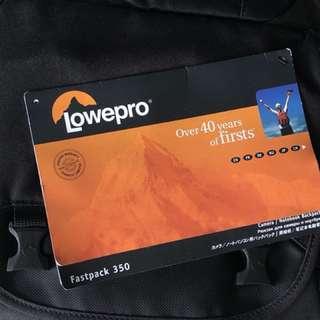 Lowepro Fastpack 350 New