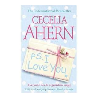 E-book English Novel - P.S. I Love You by Cecelia Ahern