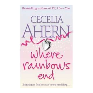 E-book English Novel - Where Rainbows End by Cecelia Ahern