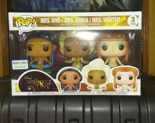 [PRE-ORDER] A Wrinkle in Time 3-pack Disney Exclusive Funko Pop