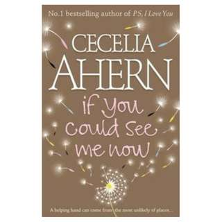 E-book English Novel - If You Could See Me Now by Cecelia Ahern