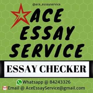 [FREE] Essay Checker 📓 essay assignment