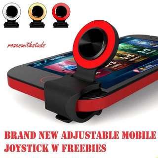 Adjustable Mobile Joystick with free iRing