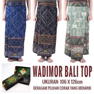 Sarung Wadimor Bali Top / Pelikat / Perlengkapan Sholat