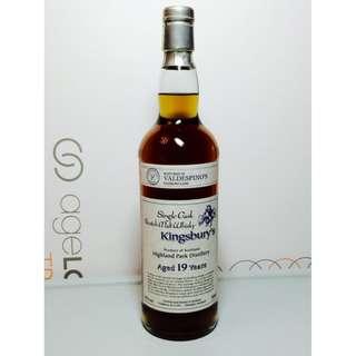 Kingsbury's Highland Park 19Yrs Single Malt Whisky