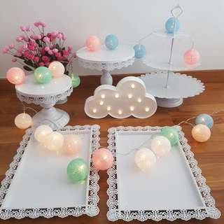 Cake stand set for rent